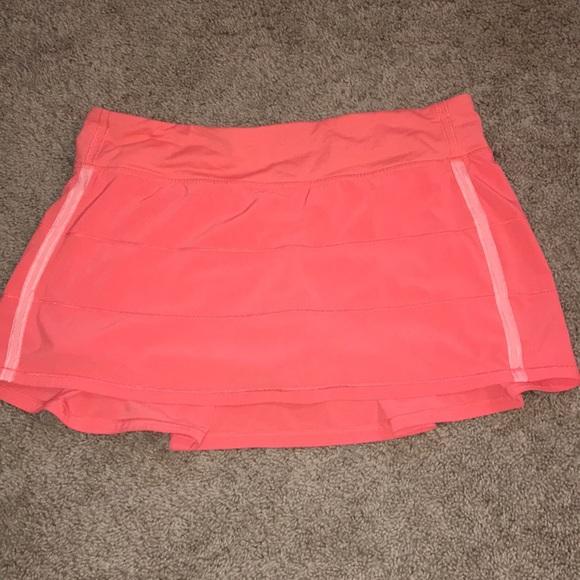 c7ae2edb8e lululemon athletica Skirts   Lululemon Sz 10 Running Skirt   Poshmark